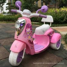 Motocicleta eléctrica barata del triciclo de los niños para los niños