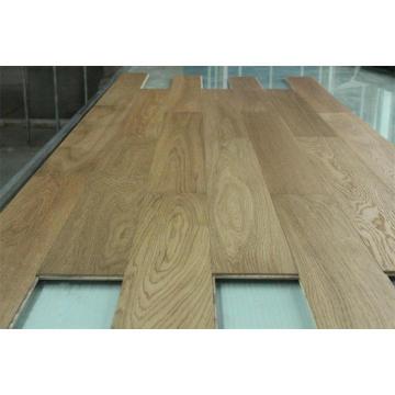 Ab-Grad-natürlicher Eichen-ausgeführter hölzerner Bodenbelag, 2-6mm Eichen-Holz, Gesamtstärke 10-20mm