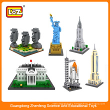 LOZ architectural design building blocks toys block for children adult