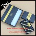 Silk Tie Box Set with Self Tie Bow Tie in Custom Necktie Packaging Box