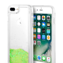 Eye Pleasant Green Waterfall Quick Sand caso iPhone6 ​​Plus