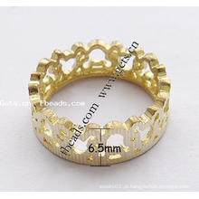2015 Gets.com latão dedo anelar jóias