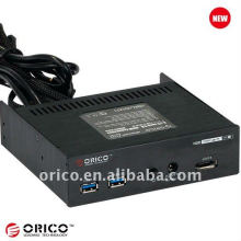 CD-ROM placa multifunción frontal USB3.0 + eSATA + interruptor de encendido