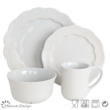 16PCS cerámica gres cena conjunto nuevo diseño venta caliente