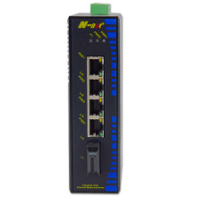 industrieller unmanaged Fast Ethernet Switch