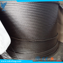 Certificación CE y Construcción Cable de aplicación 304 Cable de acero inoxidable 7x19 Selección del Proveedor
