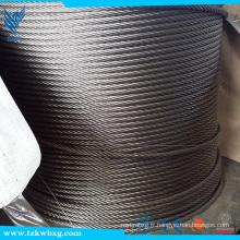 Certification CE et construction Câble d'application 304 Câble en acier inoxydable 7x19 Choix du fournisseur