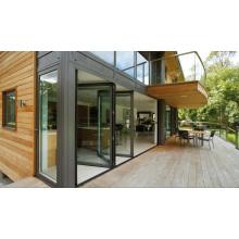 Top Hanging System Patio Aluminum Doors