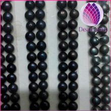 wholesale price loose freshwater button pearl 5--6mm no hole loose pearl for necklace