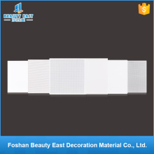 Free sample interior decorative products pvc suspended ceilings lay in aluminum ceiling tiles