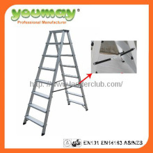 EN131 Approved Aluminum step ladder, folding ladder AD0408C