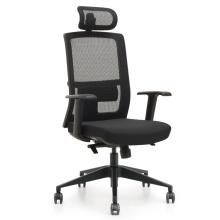 nouveau design moyen dos chaise en tissu