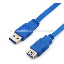 Cable azul de alta velocidad usb 3.0 los 50cm, 1m, 1.5m, 2m, cable