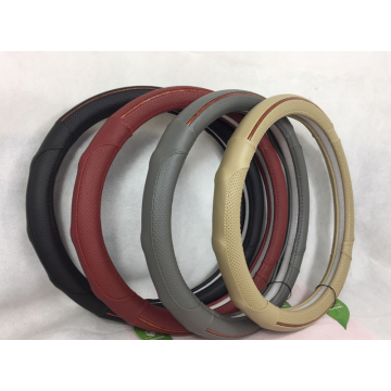 Top for Cheap PU Steering Wheel Cover M Universal PU steering wheel cover export to Saint Kitts and Nevis Supplier