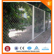 Chain Link Fence Nettings/Temporary Construction Chain Link Fence/Decorative Chain Link Wire Mesh