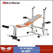 Multifunktions-Fitnessgeräte freie Gewicht Bank Sets (ES-527)