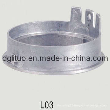 Aluminum Die Casting for LED Box Lid with ISO9001: 2008, SGS, RoHS