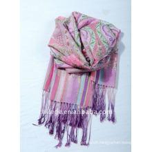 wool printed pashmina