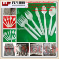 China Taizhou Custom 24 Cavity Disposable plastic injection cutlery spoon mould with CE