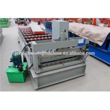 Equipo de fabricación de hojas de techo metálicas