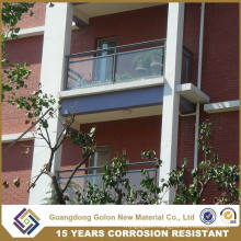 modern Home Indoor Glass Balcony Railing