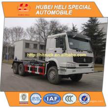 SINOTRUK HOWO 16CBM 6x4 hook lift garbage truck WD615.69 engine 336hp