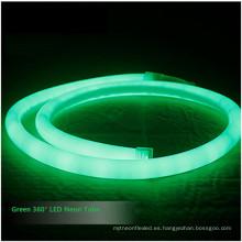 IP68 Anti UV SMD 180 360 grados RGB llevó la luz de la cuerda de neón