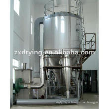 Spray dryer of alkaline dyestuff and pigment
