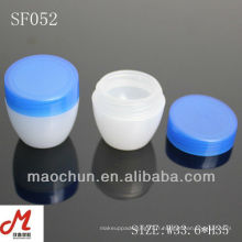 SF052 fabricant flacons à la crème pour le visage, emballages cosmétiques à base de jar, pots cosmétiques en plastique crème