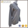 Cardigans grises de la cachemira del modelo que hace punto de la buena calidad de la mujer en venta