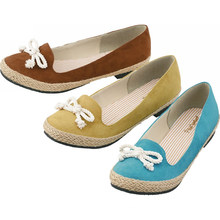 2014 latest design women fabric shoes can driving shoes casual shoes
