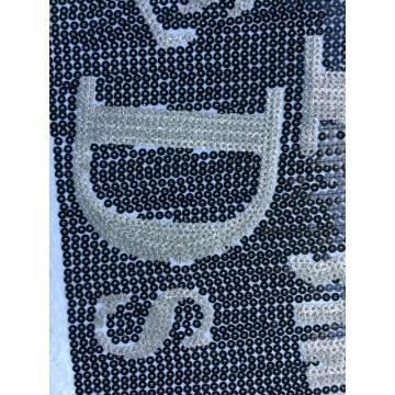 precio barato de hierro en bordado de lentejuelas apliques