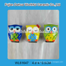 Most attractive owl shaped ceramic fridge magnets