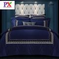 Laço do fundamento folha Duvet Cover Defina o conjunto de cama