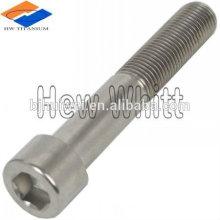 Parafuso de titânio de fábrica Baoji DIN912