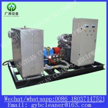 Machine industrielle de nettoyeur à haute pression de système de nettoyage de tube de chaudière