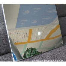 Mirror Finish Aluminium Composite Panel
