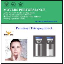 Péptido cosmético de alta pureza Palmitoil tetrapéptido-3