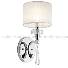 Iron Wall Lamp with Crystal Decoration (C017-1W)