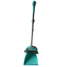 Manufacturer Wholesale New Cleaning Plastic Long Handle Broom Dustpan