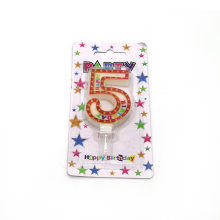 Birthday Party Custom Number Candle