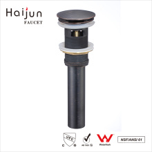 Haijun 2017 Durable Oem cUpc Bathtub Lacquered Overflow Scupper Drain