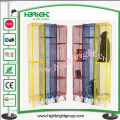 UK Coloured Mesh Lockers for Storage