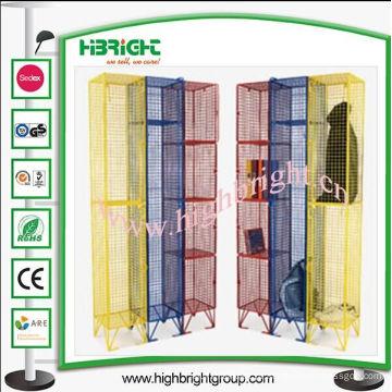 Cacifos de malha coloridos UK para armazenamento