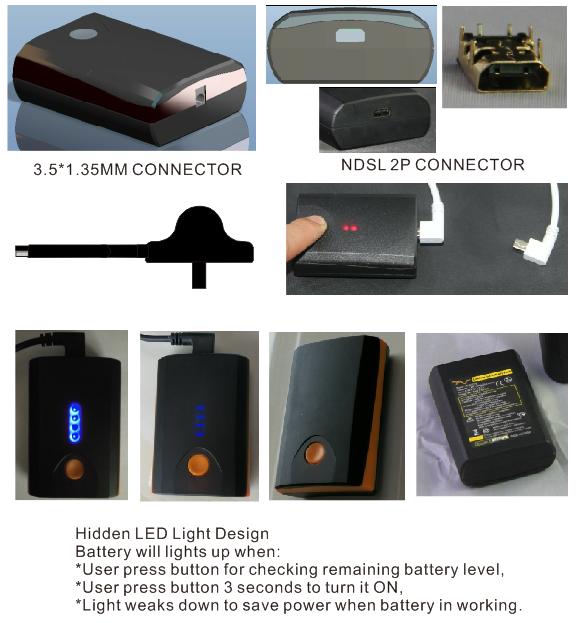 AC244 heated glove battery pack