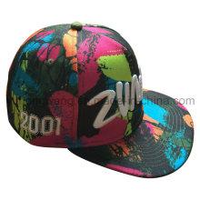 Chapeau de sport à la mode Snap Back, casquette de baseball