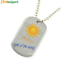 Dog Tags Customized With Silver Color