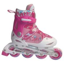 Inline Skate Children Pink Roller Skate