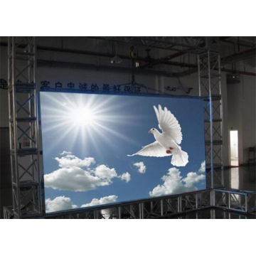 Indoor Rental LED Display Slanke aluminium structuur