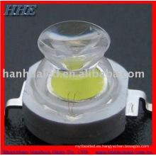 ISO9001 Proveedor 3w blanco 175 grados de alto poder led